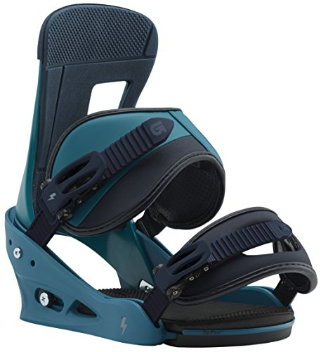 Burton Freestyle Snowboard Bindings MTN Dude Green Sz L (10+)