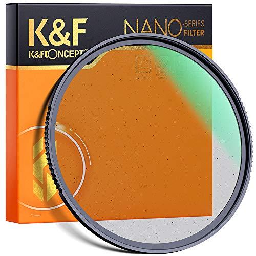 K&F Concept Black Mist 1/4 Filter Black Promist 1/4 Filter Effektfilter