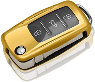QBUC for VW Key Cover Car Key Case
