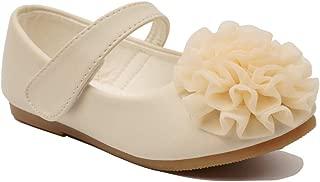 Little Girls Cute Ballet Ballerina Flats Princess Shoes with Flower