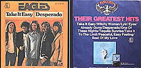 Take It Easy / Desperado [import 45 PS]