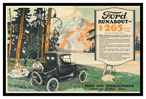 8 x 10 Photo Print 1924 Ford Freedom Mailer 02 03 Vintage Old Advertising Campaign Ads