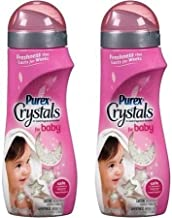 Purex Crystals Laundry Enhancer for Baby, 18 Oz (Pack of 2)