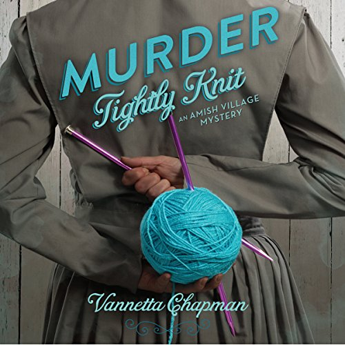 Murder Tightly Knit audiobook cover art