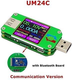 Blau LCD USB Detektor USB Volt Strom Spannung Doctor Ladeger/ät Kapazit/ät Plug /& Play Power Bank Tester Meter Voltmeter Amperemeter