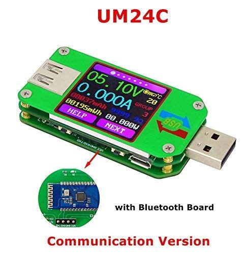 Amazon.com - UM24C USB Voltage Current Power Meter/Tester