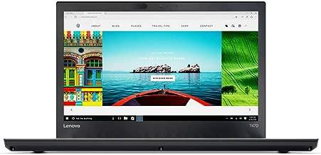 Lenovo 2019 Newest ThinkPad T470 14 Inch Touchscreen FHD 1080P Laptop, Intel Core i5-6300U up to 3.0GHz, Intel HD 520, 8GB DDR4 RAM, 256GB SSD, FP Reader, HDMI, WiFi, Bluetooth, Windows 10 Pro, Black