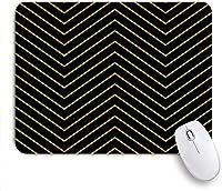 マウスパッド 個性的 おしゃれ 柔軟 かわいい ゴム製裏面 ゲーミングマウスパッド PC ノートパソコン オフィス用 デスクマット 滑り止め 耐久性が良い おもしろいパターン (神秘的な黄色い目を持つ黒い猫またはパンサーヘッド)