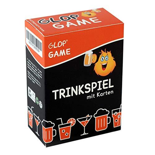 Glop Game - Trinkspiel - Partyspiel - Kartenspiel - Spieleabend - Saufspiel - Brettspiel - 100 Spielkarten
