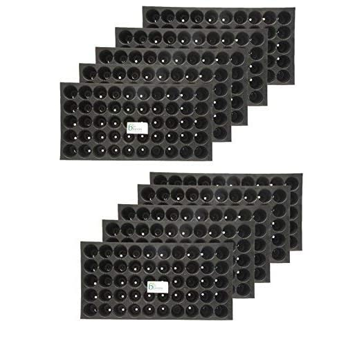 Bio Blooms Gardening Seedling Tray Protray 98 Cavity Holes Or Cells (Pack Of 10)Bio_33B