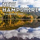 New Hampshire Calendar 2022: 16-Month Calendar, Cute Gift Idea For New Hampshire State Lovers Women & Men
