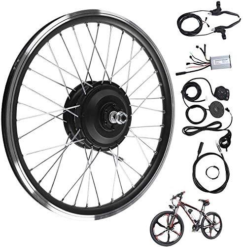 MYJZY Kit de conversión eléctrica de Bicicletas, 24V 250W Delantero/Trasero de la...