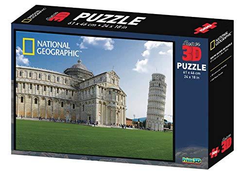 Partycolare Puzzle 3D Torre di Pisa 500 pz 61x46 cm