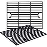 GASPRO Grill Grates Replacement Parts for Nexgrill 4 Burner 720-0830H 720-0783E, 5 Burner 720-0888N, 17 X 13 1/4 inch, Porcelain-enameled Cast Iron Cooking Gird Grates