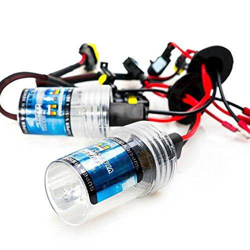ZGMA H3 Automatique Ampoules électriques 35W Lampe Frontale White