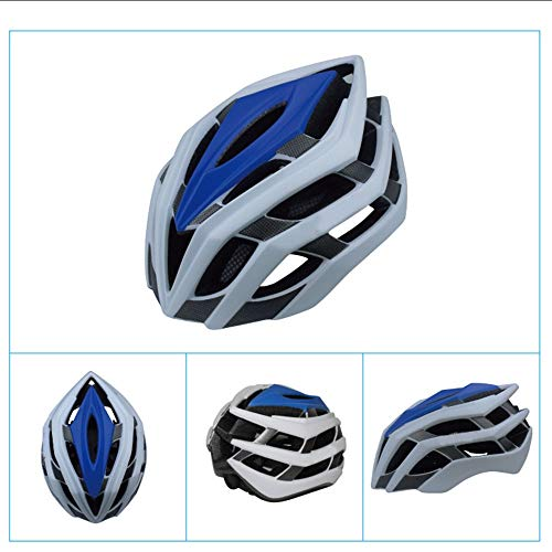 U/D Casco de bicicleta transpirable integrado para hombre y mujer, equipo de seguridad de ciclismo (color: rosa, talla: L)