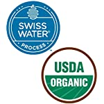 2LB Subtle Earth Organic Decaf - Swiss Water Process Decaf - Medium Dark Roast - Whole Bean Coffee - Low Acidity… 15 Swiss Water Process Decaffienated - 99.9% Caffiene Free USDA Organic Certified - Whole Bean - Medium Dark Roast Rich and chocolatey with profound depth of flavor, velvety body, and low acidity
