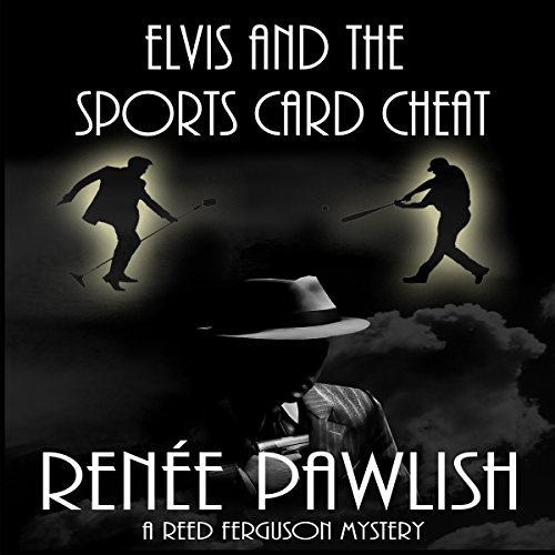 Elvis and the Sports Card Cheat audiobook cover art