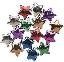 Jewelry Designer 1963-33 Metallic Stars Assorted 12Mm 100Oc