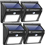 URPOWER Solar Lights Outdoor, Motion Sensor Security Lights Solar...