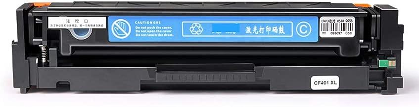 GYBY Cartucho de tóner ecológico para Cartucho de tóner HP CF410A, Impresora láser Color M452dw / dn/NW M477fdw / fnw Caja de Polvo, Cartucho de tóner M377dw fácil de Agregar Color Laserjet Pro-BLU