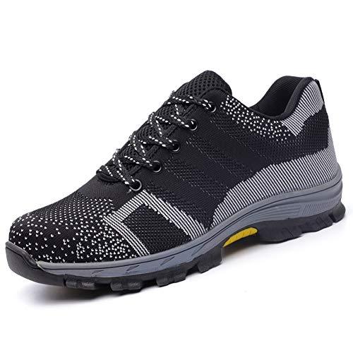 TAZAN Malla Para Hombre Caminar Gimnasio Zapatos Para Correr Mocasines Casuales Ligeros...