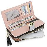 Zoom IMG-1 portafoglio donna pelle sintetica lungo