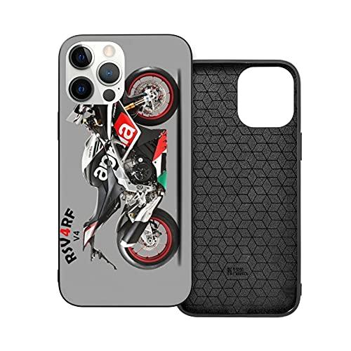 Compatibile con iPhone 12/11 Pro Max 12 mini SE X/XS Max XR 8 7 6 6s Plus Custodie Aprilia Rsv4 Sports Bike Rf Superbike Transportation Motorcycle Transport Custodie per Telefoni Cover
