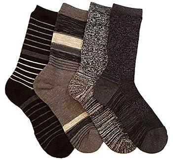 Kirkland Signature Ladies  Trail Socks Extra Fine Merino Wool  Black  4 Pairs