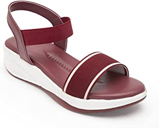 AROOM Zipper Synthetic Leather Casual Stylish Flats For Women And Girls, Flats For Women