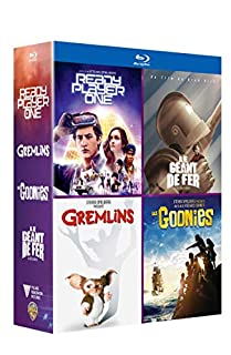 Ready Player One : Coffret 4 Films Pop Culture Inclus les Goonies, le Géant de Fer, Gremlins et Ready Player One - BluRay [Blu-ray] (B07D57FF7X) | Amazon price tracker / tracking, Amazon price history charts, Amazon price watches, Amazon price drop alerts