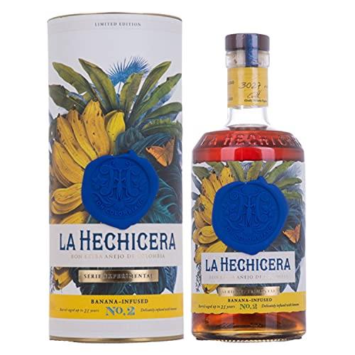 La Hechicera La Hechicera Rum SERIE EXPERIMENTAL No. 2 Banana Infused (1x700ml) Rum (1 x 0.7 l)