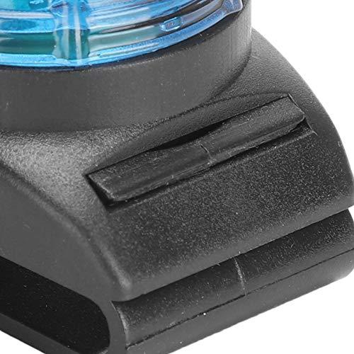 01 Luz LED para Mascotas, Accesorios para Perros con luz LED para Cuello para la Noche para Perros(Blue)