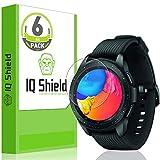 IQ Shield Screen Protector Compatible with Garmin Vivoactive 3 Music (6-Pack)(Full Coverage) Anti-Bubble Clear Film