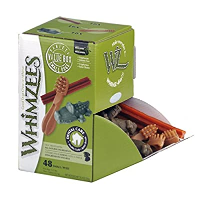 Whimzees Mixed Variety Dog Chews Treats Dental Care Natural Ingredient by Paragon Pet Products