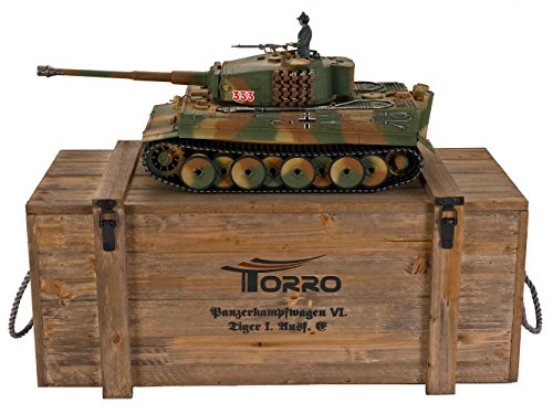 TORRO Tiger I. Mittlere Ausführung Metall Profi-Edition IR Version Panzer Tarn