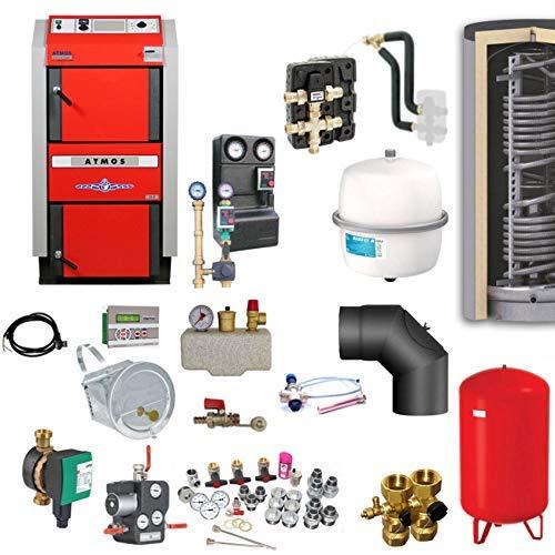 ATMOS GS40 Scheitholzvergaser Holzvergaserkessel | Komplettset 5