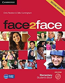 face2face. Student's Book with DVD-ROM. Elementary 2nd edition