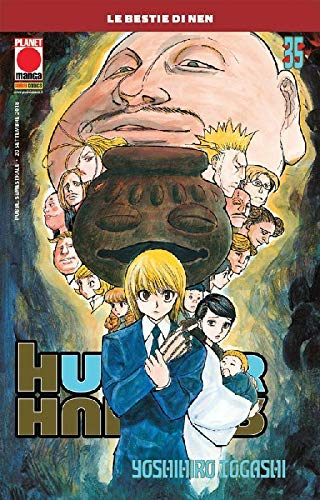 Hunter x Hunter N° 35 - Ristampa - Planet Manga - Panini Comics - ITALIANO