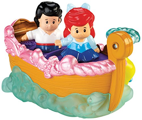 Fisher-Price Little People Disney Princess Ariel's Boat Ride Toy by Fisher-Price