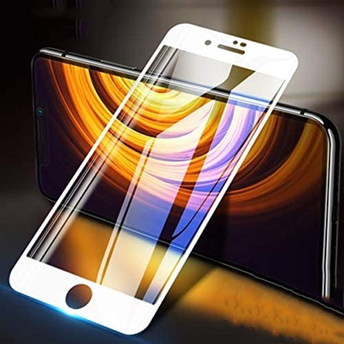2 Pack 6D Full Coverage Tempered Glass Screen Protector for iPhone6 iphone 6s 4 7Inch White product image