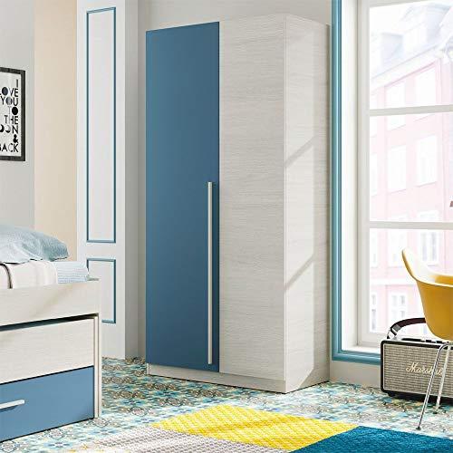 modernes Wohnzimmer Esszimmer Habitdesign 016667/F Waschtisch wei/ß Glanz und Eiche Canadian Ma/ße: 200/x 41//34/x 43/cm hoch