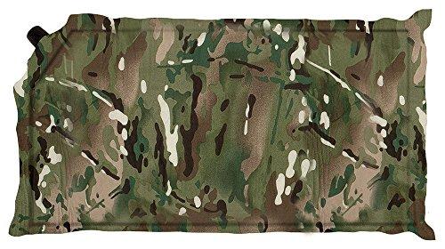 Highlander Outdoor Products Samopompująca poduszka powietrzna kamping wojskowa wojskowa podróżna kamuflaż HMTC