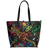 Versace Jeans Couture shopping bag donna nero