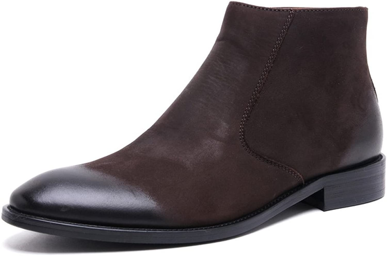 MEbox Mens Winter Leather Warmth Dress Oxfords shoes