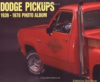 Dodge Pickups 1939-1978 Photo Album