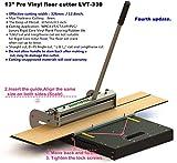"MantisTol 13"" Pro Vinyl Floor Cutter LVT-330 (Upgraded). Better Than 12-in Vinyl Tile"