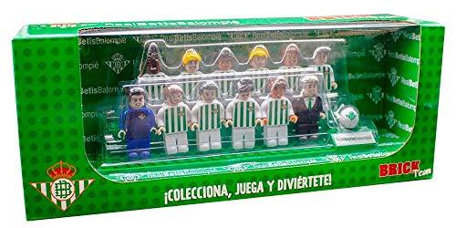 Eleven Force Brick Team Real Betis Balompié 2ª Edición, Multicolor, Talla Única