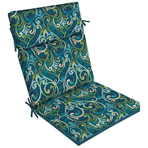 Garden Treasures 1-Piece Salito Marine High Back Patio Chair Cushion