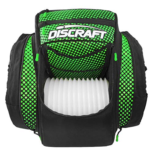 Discraft Grip EQ BX2 Backpack Disc Golf Bag - Black/Green